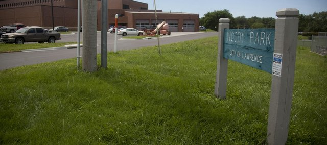 Woody Park, which sits just north of Lawrence Memorial Hospital and has been home to many a neighborhood baseball game, could become a parking lot. That suggestion has raised concerns among members of the Pinckney Neighborhood Association. Among their concerns is the idea that in losing the park, named for Elgin Woody Sr., Lawrence is losing a piece of its history.