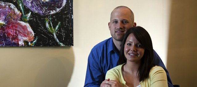 Ross and Michelle Merritt are in the process of trying to complete an international adoption.
