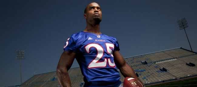 Safety Darrell Stuckey is one of the most decorated Kansas University football players, but his mom and those who saw him grow up say he might be a better person than a player.