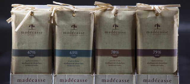 Madécasse, a company that produces country-of-origin chocolate bars and vanilla in Madagascar, is run by Lawrence High School graduate Brett Beach. The products are available at Au Marche, 931 Mass., and other Lawrence locations.