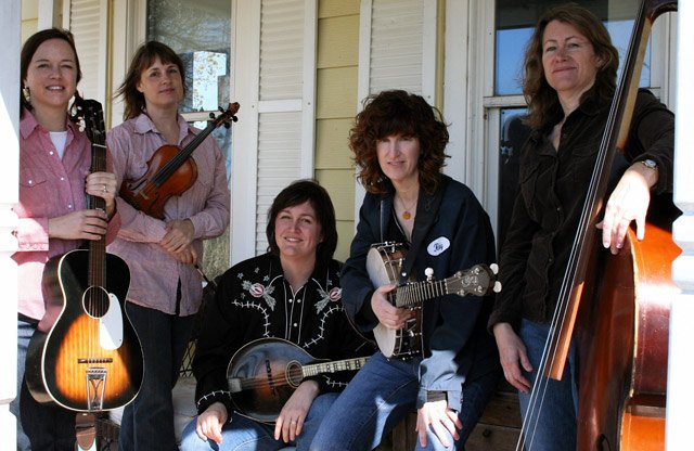 Maw is (from left) Tracy Floreani, Kit Cole, Katie Conrad, Jeanie Wells and Julie Schwarting.