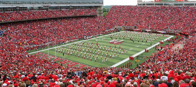 Memorial Stadium, home of the Nebraska Cornhuskers.