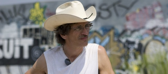 "John Hawkes portrays Lawrence artist Stan Herd in the film ""Earthwork."" The feature is slated to premiere at the Austin Film Festival at the end of the month."