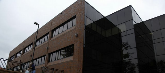 Lawrence Memorial Hospital intends to move its cardiology practice to the second floor of the new medical building, above, at the northwest corner of Fourth and Maine streets.