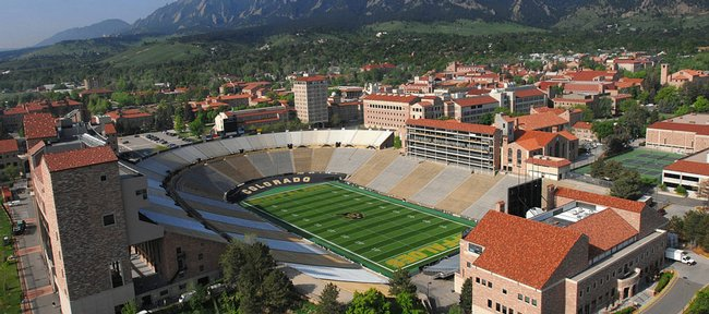 Folsom Field, home of the Colorado Buffaloes.