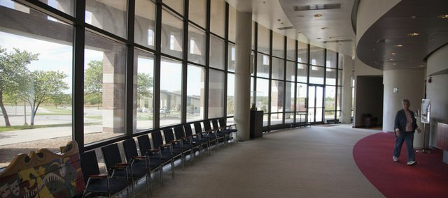 The Lied Center will undergo a $2.5M expansion to improve the lobby, education pavilion and offices. The Lied Center is located on KU's West Campus.