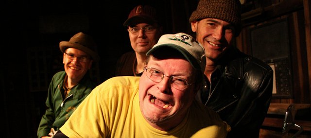 Danger Bob is (L to R): Karl Michelbach, Jason Lovell, Andy Morton, and Kenny Gall.