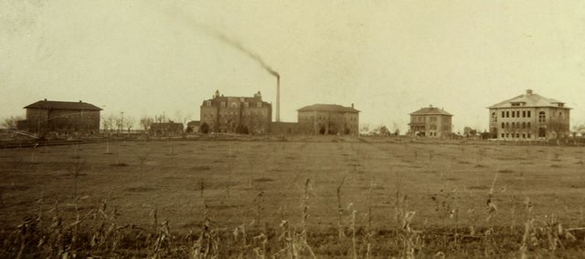 The Beloit Juvenile Correctional Facility is shown in the early part of the 20th century. The girl's reformatory closed recently after 121 years.