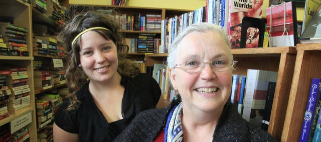 By compiling writings from female inmates at the Douglas County Jail, Paige Blair, left, and Iris Wilkinson have produced a printed collection of thoughts from the inmates.