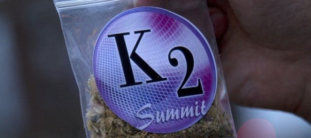 K2 is a legal, smokable herbal mixture with chemical properties similar to THC, the active ingredient in marijuana, a Johnson County Sheriff's deputy said. K3 is a new drug that is legal because its compounds have been altered from what was found in K2.