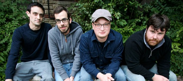 Coalesce is (from left) Jes Steineger (guitar), Nathan Ellis (bass), Sean Ingram (vocals) and Nathan Richardson (drums).