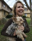 Tammy Yergey has found her dog Tinker after eight months, by the way of a good samaritan who found the dog and helped reunite them after searching through lost dog ads. 