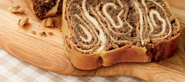 Povitica bread is an Eastern European holiday tradition that mixes a sweet dough and nutty filling.
