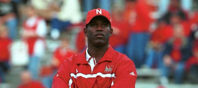 Turner Gill, in this undated photo, started his coaching career as an understudy to Nebras