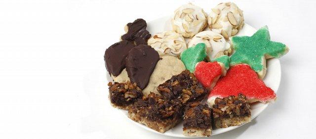 Sarah Henning's Christmas cookies.