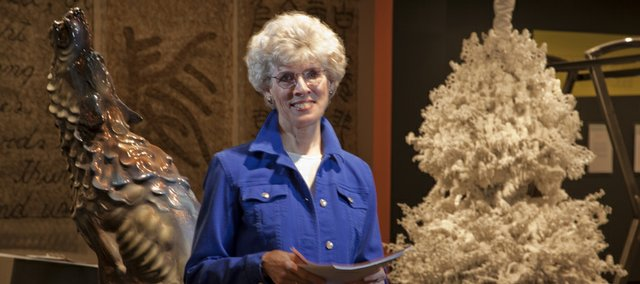 Betsy Weaver is a longtime docent at Kansas University's Spencer Museum of Art. She continues to work at the museum on a volunteer basis.