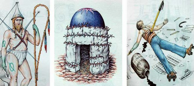 "An image from ""Codex Seraphinianus."""