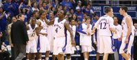 Big Red menace: Collins rescues Jayhawks