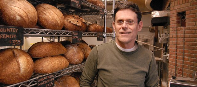 Wheatfields Bakery co-founder Thom Leonard.
