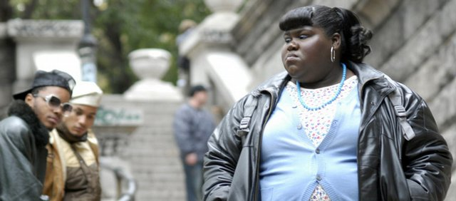 "Gabourey 'Gabby' Sidibe stars as the 16-year-old title character in ""Precious: Based on the Novel 'Push' by Sapphire."""