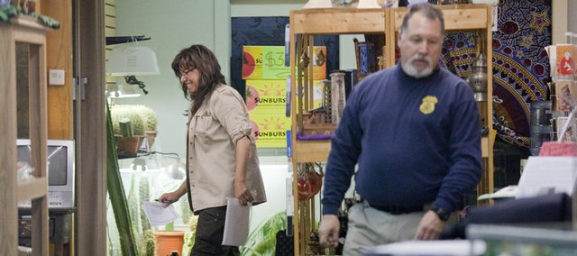 Officials from the U.S. Food and Drug Administration, Johnson County Sheriff's Office and Lawrence Police Department, conducted a search and seizure in February 2010 inside Lawrence's Sacred Journey — a store at the center of the K2 controversy in Kansas.