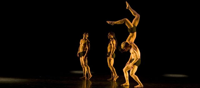 The Pilobolus dance company.