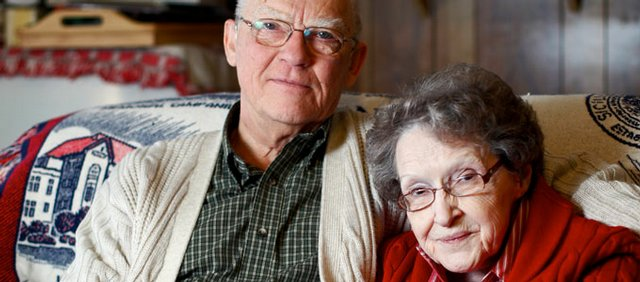 Ken and Goldie Flanders celebrated their 60-year wedding anniversary in December.