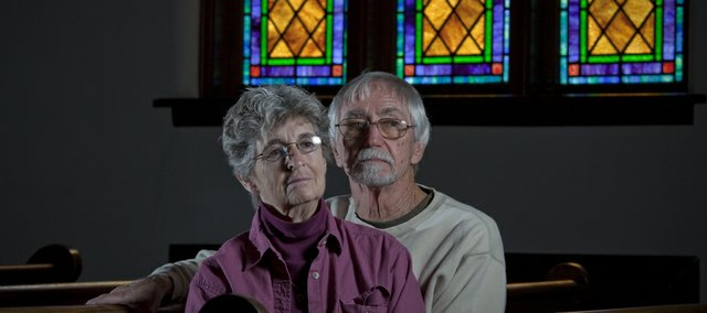 Joe and Rev. Shirley Edgerton survived the devastating Haiti earthquake while visiting the island working on a mission trip.