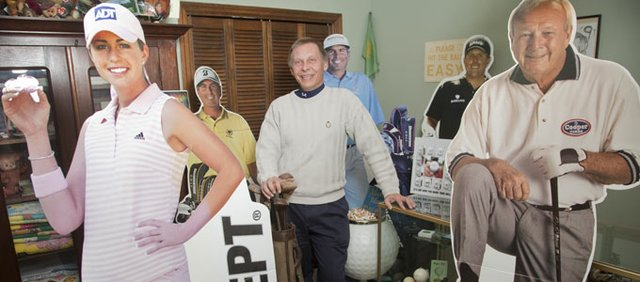 "A passion for golf has led Dan Consolver, Lawrence, on an ""all-things-golf"" collecting streak. From cardboard advertisements to bobble-head dolls, Consolver, pursues, and is often gifted with, anything related to golf."
