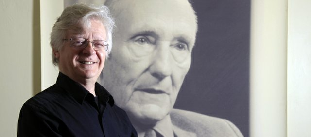 Barry Miles, an author and journalist considered one of the architects of Swinging London culture, spent a week in Lawrence working on a new book about William S. Burroughs.