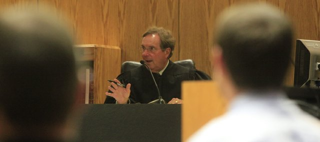 Douglas County District Judge Robert Fairchild, pictured here in a 2009 file photo, is concerned about upcoming court closures due to state budget problems.