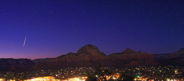 Photo of the International Space Station taken last year in Sedona, Ariz., by atbaker / CC BY 2.0.