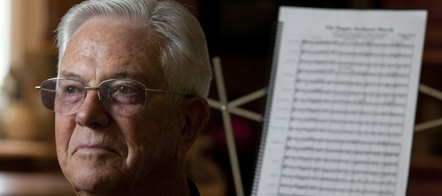 "Hutchinson resident LeRoy Esau, a former assistant director for Midwestern Music and Art Camp, will serve as the guest conductor for the ""National Emblem"" march during the Lawrence City Band's first summer performance tonight."