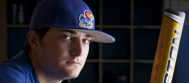 Kansas University third baseman Tony Thompson feels healthy again after an injured knee forced him to miss seven weeks of the season.