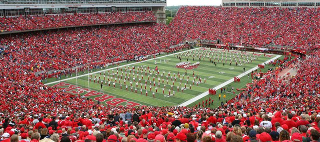 Football fans at Memorial Stadium in in Lincoln, Neb., pictured above, will call the Big Ten Conference home after the school announced it was leaving the Big 12 on Friday. The Cornhuskers will attempt to begin play in the Big Ten in 2011.