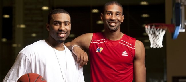 Former Kansas basketball player Keith Langford, who graduated from KU in 2005, has a younger brother, Justin Wesley, who will play for the KU men's basketball team during 2010-11 season.