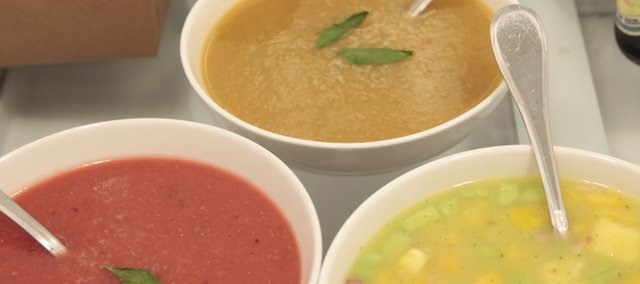 Cold soups are a summertime treat that involve very little cooking.