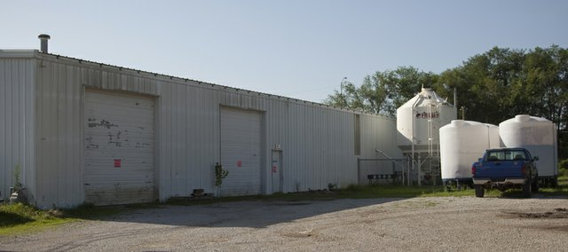"The MagnaGro production plant at 600 E. 22nd St. was declared ""unfit for human occupancy"" on Wednesday, July 21, 2010. City officials condemned the building and said operations won't be allowed to resume at the facility."