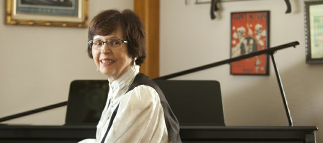 Lawrence resident Nora Hulse, who has been playing piano almost all her life, says she began playing by ear when she was 3 years old. Currently she performs with the Turpin Tyme Ragsters in Kansas City.