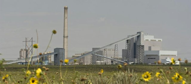 Holcomb 1, pictured above, is operating at 85 percent capacity. The Holcomb Station Project proposed by Sunflower Electric Power Corporation would add a second plant that would operate at 90 percent capacity.