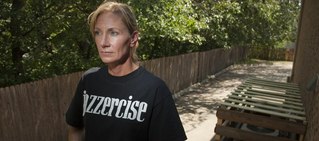 Jazzercise owner Brenda Wilch was stunned when thieves ripped away copper inside the air conditioner units Aug. 3 behind her business, 3115 W. Sixth St., leaving the back alleyway behind the building strewn with sheet metal pieces. Now the landlord has erected cages around all the units.