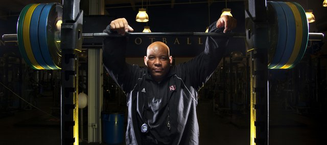John Williams, more commonly known as Big John, enters his first year as the strength coach for the Kansas University football team. Williams has made an immediate impact on the Jayhawks.