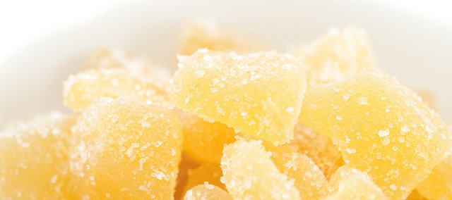 Crystallized ginger is just one of the many ways to enjoy the spice, which can be eaten fresh, dried, pickled (with sushi), powdered and even juiced.