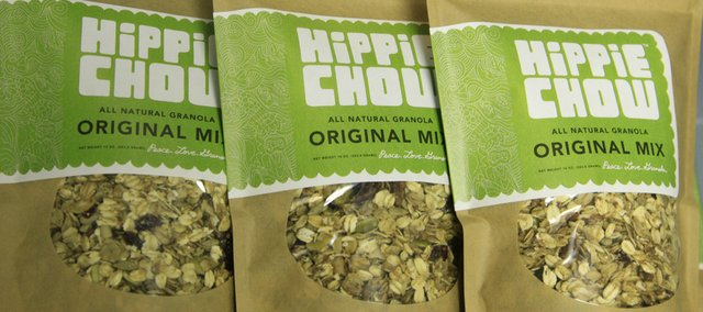 Valerie Jennings has come up with a crunchy delight called Hippie Chow that was recently picked up by Dean & Deluca and is being sold nationwide. Seventy-five percent of her ingredients are locally purchased.