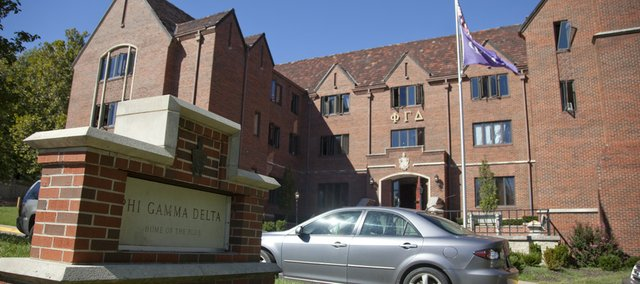 Kansas University placed Phi Gamma Delta on probation for two years after concluding a hazing investigation in October 2010. The investigation followed an incident during which KU freshman Matt Fritzie was injured while diving into a makeshift pool at the fraternity house on Sept. 17, 2010.