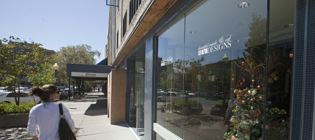 A new interior design and furniture store has become the first tenant for the former Arensberg Shoes building, 825 Mass. BIAO Designs, a new home interior and home store, is the first storefront business at the newly redesigned building.