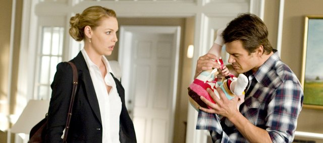 """Katherine Heigl, left, and Josh Duhamel star in """"Life as We Know It."""""""