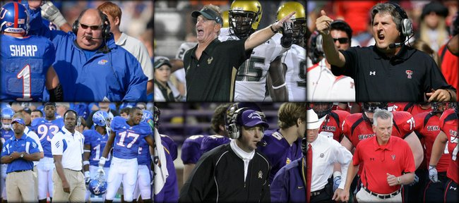 Within a five-week span, three coaches — Kansas' Mark Mangino, South Florida's Jim Leavitt and Texas Tech's Mike Leach — were out after allegations of misconduct and were replaced by kinder, gentler Turner Gill, Skip Holtz and Tommy Tuberville.