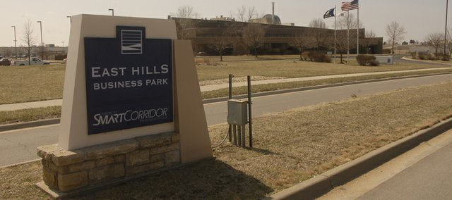 The East Hills Business Park, located along Kansas Highway 10 in East Lawrence, celebrated its 20th anniversary in 2008.