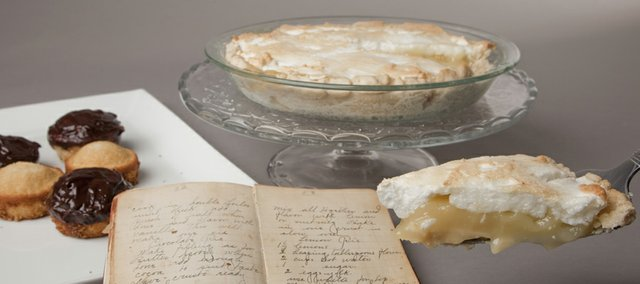 Nikki Overfelt creates recipes from her late great-grandmother's cookbook: Grandma Opie's Lemon Pie and Grandma Opie's Jolly Jumpers.